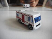 Matchbox Truck Camper in White/Red