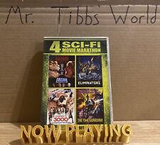 4 Sci-Fi Movie Marathon (Dvd) 2 Disc Set Shout Factory: Arena Eliminators Etc
