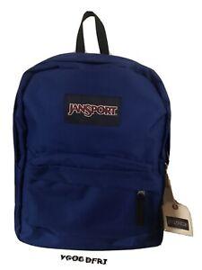 JanSport SuperBreak Blue Backpack Lightweight School Bookbag Back to School