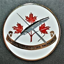 Canadian Armed Forces Tactics Branch Uniface Medallion