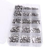 Stainless Steel Screws Nuts Assortment Set Kit /M2 M3 M4 Hex Socket Head Cap