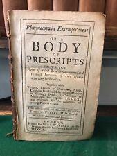 Thomas Fuller Pharmacopoeia Extemporanea 1st 1710