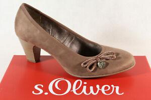 S.Oliver Women's Pumps Ballerina Slippers Braun Pepper 22410 New