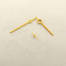 WATCHES-PARTS: NEW SET OF ARROWS HANDS *YELLOW*  for POBEDA  Cal.2602/2608 #Z528