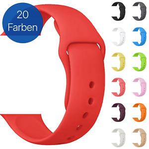 Silikon Armband für Apple Watch | für Series [1-7 & SE] | Sportarmband