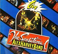 CD Album Sensational Alex Harvey Band LIVE (Mini LP Style Card Case) *NEW*