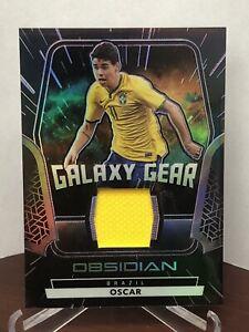 2020-21 Panini Obsidian Galaxy Gear Jersey Patch Purple OSCAR SSP /75 Brazil