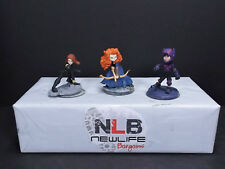 3 Disney Infinity 2.0 Figures Black Widow, Brave & Big Hero 6 Hiro Hamada