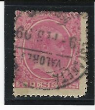 SPAIN...# 269 (4 Pesetas)...1889/99...Used...SCV $ 47.50