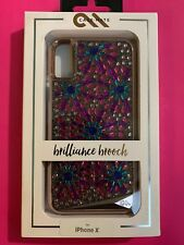 Case-Mate Brilliance Brooch Case for iPhone X / XS