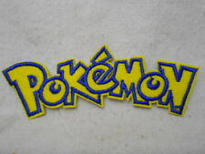 POKEMON NEW EMBROIDERED  SEW/ IRON ON NAME PATCH TAG