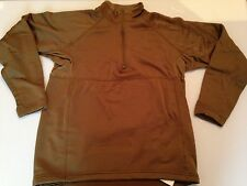 NEW USGI SOF SPECIAL FORCES COYOTE, SMALL PCU LEVEL 2 GRID FLEECE L/S SHIRT  #1