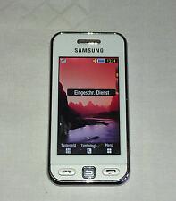 Samsung GT-S5230 Edge Weise Handy/Ohne Simlock/Gebraucht/TOP