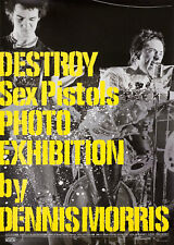 DESTROY: Sex Pistols Photo Exhibition by Dennis Morris 2004 Japanese B2 Poster