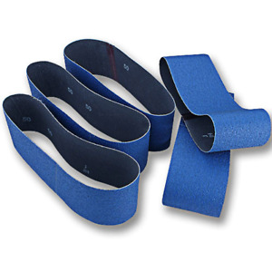 "Norton ProSand BlueFire Sanding Belts - 4"" X 24"" X 36 Grit - 5 Pk."