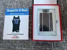 🔥🔥 SHAQUILLE O'NEAL 1992-93 ROOKIE YEAR GAME WORN JERSEY SWATCH ORLANDO MAGIC