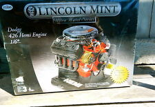 TESTORS MINT MOPAR DODGE PLYMOUTH 426 HEMI ENGINE MODEL KIT 1/6 DIECAST SEALED