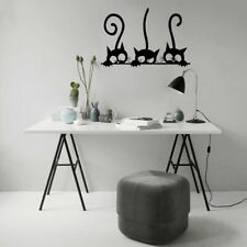 Black Cat Funny wall Sticker Children Bedroom Wall Decal Home Decoration