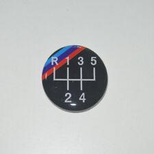 5 Speed Gear Knob Badge Emblem For BMW E34 E39 M5 M3 M6 E36 E46 E21 E30 E36 E46