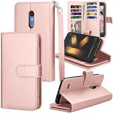 For LG K30 / LG K10 2018 Flip Pouch PU Leather Cash Card Slot Holder Wallet Case