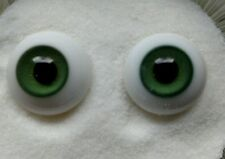 Popular size 24mm Glass Paperweight Doll Eyes, 24mm Green, beautiful doll eyes