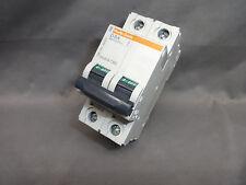 Merlin Gerin D 8A Multi 9 C60 CIRCUIT BREAKER 24521 8-Amp 2-Pole 5kA 480Y/277V