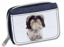 Shih-Tzu Dog Girls/Ladies Denim Purse Wallet Christmas Gift Idea, AD-SZ3JW