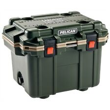 New Pelican Extreme Elite Outdoor Cooler 50 Quart - OD GREEN / TAN