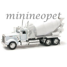 NEW RAY 10533 C KENWORTH W900 CEMENT CONCRETE TRUCK 1/32 DIECAST MODEL WHITE