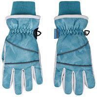 Girl's Thinsulate Waterproof Winter Snow Ski Gloves