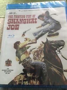 Fighting Fist Of Shanghai Joe Blu Ray Wild East New Release Reg.free