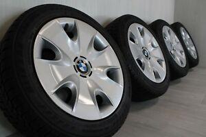 "16"" BMW 1 series E81 E82 E87 E88 winter wheels with Bridgestone RFT tyres (3)"
