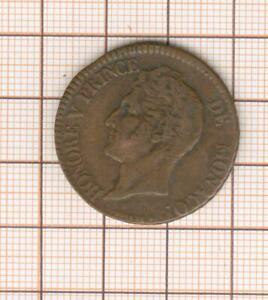 Monaco Honoré V 5 centimes 1837