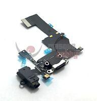 Flex Dock Conector Carga USB Iphone 5C Charging Connector Reparacion Negro