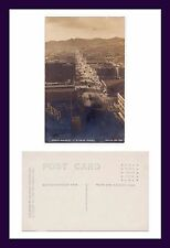 SAN FRANCISCO PILLSBURY REAL PHOTO UPPER MARKET ST TWIN PEAKS CIRCA 1910