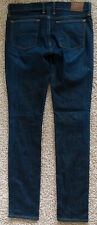 Lucky Brand CHARLIE SKINNY Jeans Blue White Oak Cone Denim Pants Women 4/27 USA