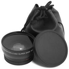 2in1 52mm 0.45X Wide Angle +Macro Conversion Lens Kit for Nikon DSLR Camera LF36