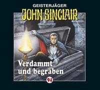 """Preisalarm! * HÖRSPIEL CD * JOHN SINCLAIR """"Verdammt und begraben"""" 94 * NEU/OVP"""