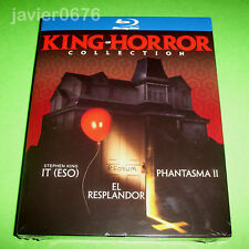 KING OF HORROR COLLECTION IT EL RESPLANDOR PHANTASMA II BLU-RAY NUEVO PRECINTADO