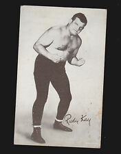 Rudy Kay Wrestler 1950s Arcade Exhibit Card- Wrestling