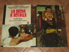 FOTOBUSTA LA SEDIA A ROTELLE CATHERINE SPAAK BRIALY @@