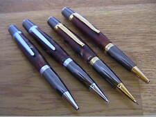 Woodturning Pen Kits - SIERRA Pen/Pencil - Gold/Chrome/Black Titanium/Platinum