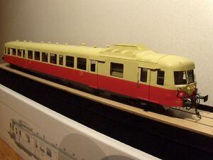 Autorails X 2800 Proto Models livrée d'origine à toit crème NEUF échelle O 0