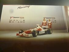 Panasonic Toyota F1 Racing TF102 Team Presentatie 2002 Salo / McNish