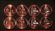 Brilliant Uncirculated 2009 All 4 Designs P&D Mints 8 Coins ! Complete!