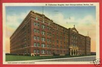 EAST CHICAGO INDIANA ST CATHERINES HOSPITAL  POSTCARD