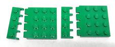 LEGO 2 piastra a cerniera 4x4 1x4 4213 4315 verde da Set 7171 3739 7186 Star Wars
