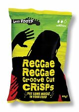 Burts Levi Roots Reggae Reggae Crisps - Available in 20 x 40g Box