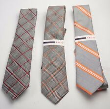 2 NWT IZOD Men's Ties plus 3rd tie100% Woven SILK Neckwear Neck Tie LOT OF 3