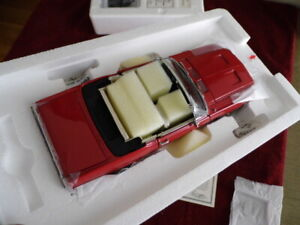 DANBURY MINT 1967 MUSTANG CONVERTIBLE..1:24..UNDISPLAYED
